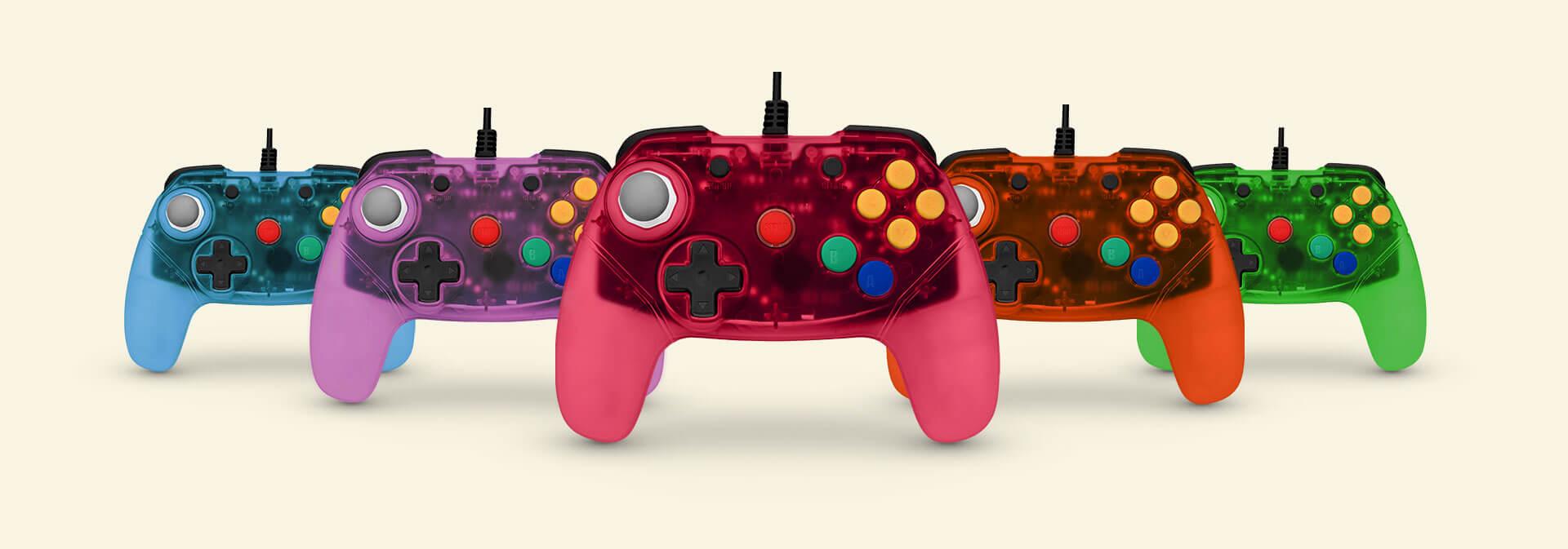 Brawler64 N64 Controller (Colors)
